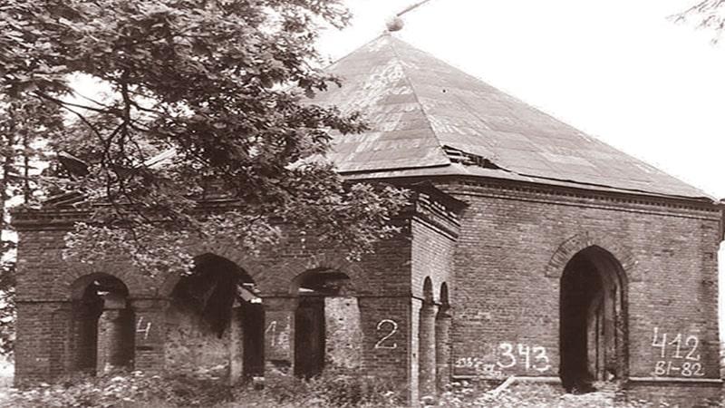 Церковь Спаса Нерукотворного Образа.старое фото.