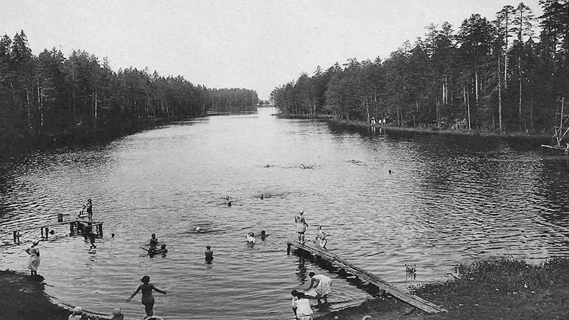 Долгое(ныне Длинное) озеро всеволожск