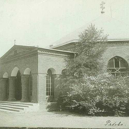 храм Спаса Нерукотворного в Рябово архивные фото (ВСЕВОЛОЖСК)
