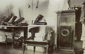 интерьеры усадебного дома всеволожских в рябово архивные фото (ВСЕВОЛОЖСК)