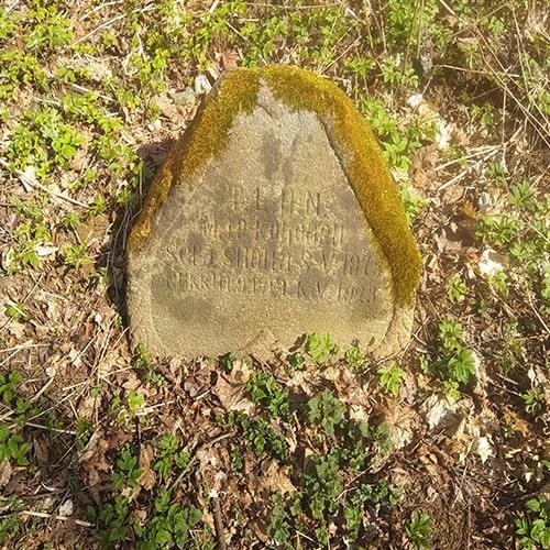 кладбище рябовского лютеранского прихода