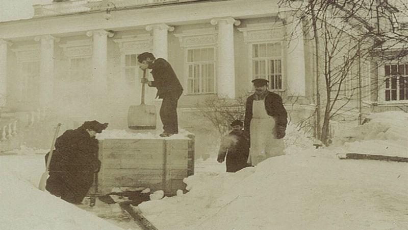 усадебный дом всеволожских в рябово архивные фото (ВСЕВОЛОЖСК)