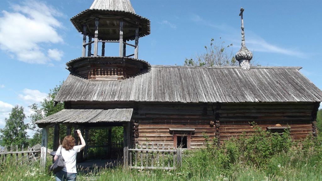 карелия деревня ерши часовня архангела михаила