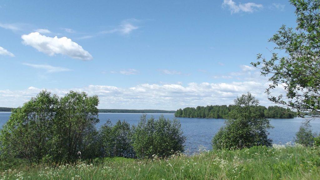 карелия деревня ерши озеро сандал