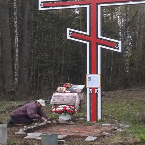 ржевский полигон под петербургом жертвам красного террора
