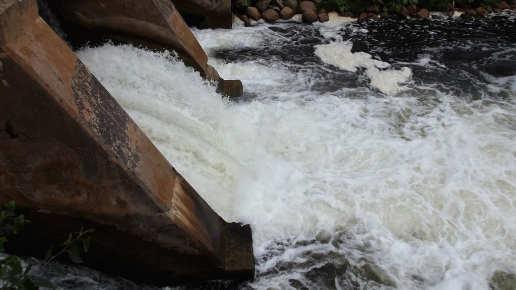плотина на реке оридеж