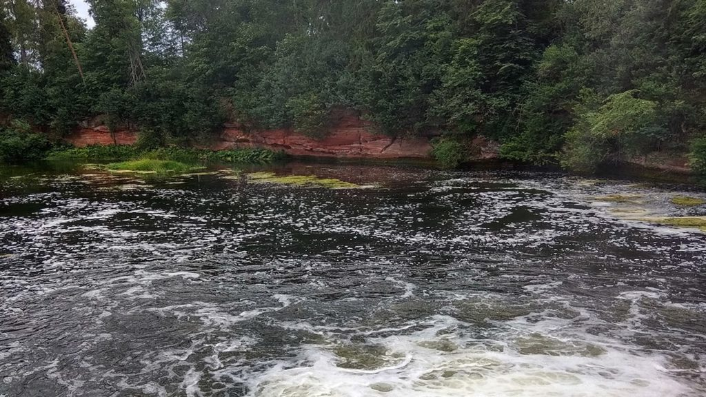 поселок белогорка обнажение девона на реке оридеж