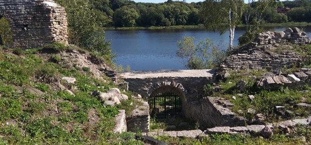 крепосные стены старая ладога