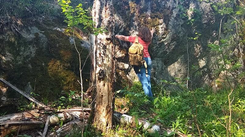 природа ленинградской области скалы