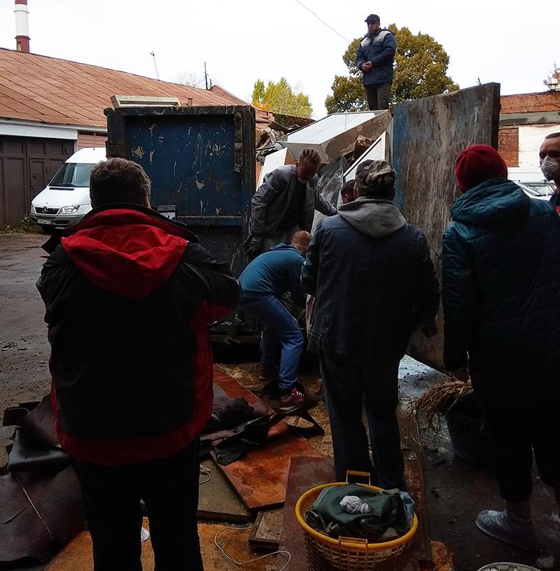 заброшенный особняк бруснициных волонтёрская суббота