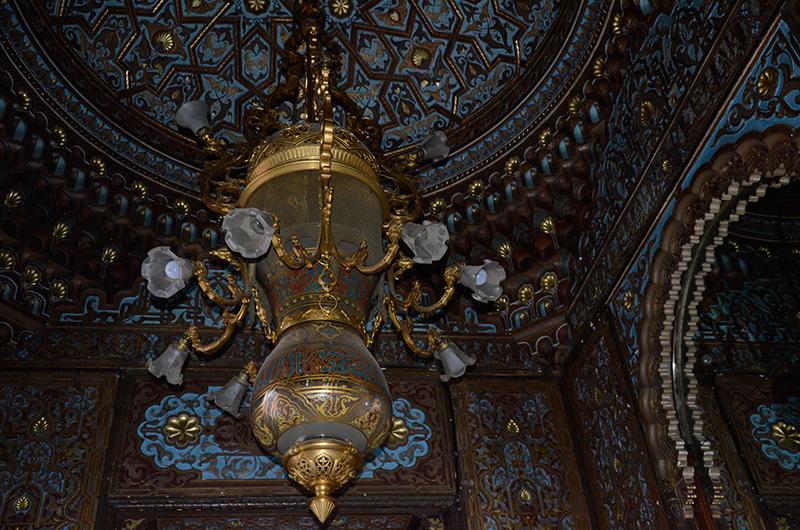 заброшенный особняк бруснициных комната в мавританском стиле