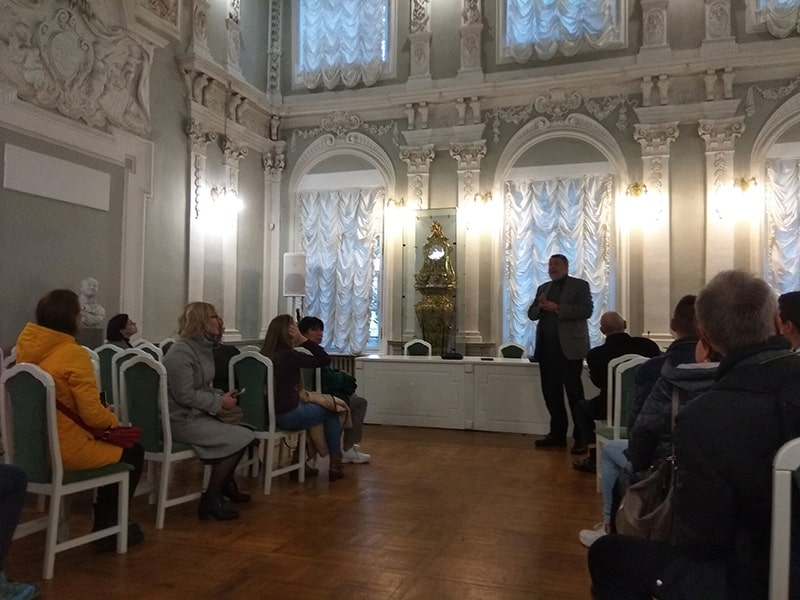 здание 12 коллегий петровский зал санкт петербург