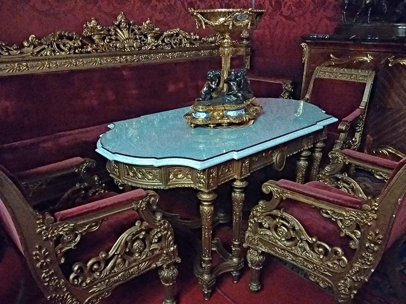 малиновая комната владимировского дворца