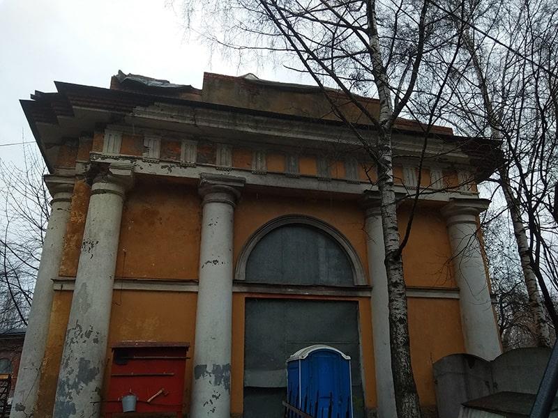 дворянская усадьба уткина дача реставрируется 2020
