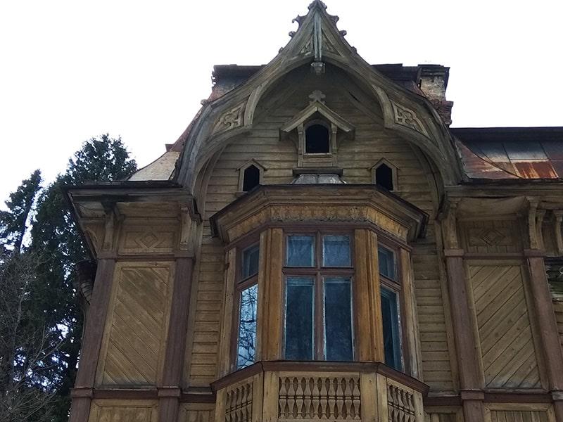 шуваловский парк желтая дача