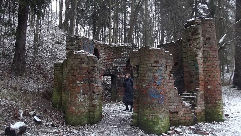 шуваловский парк руины