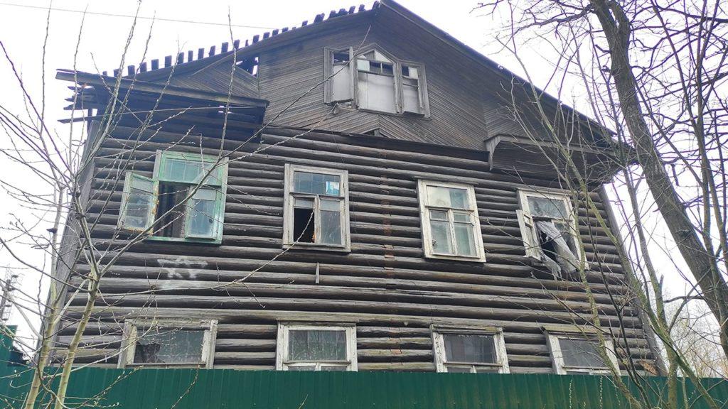 ржевка пороховые заброшенное строение