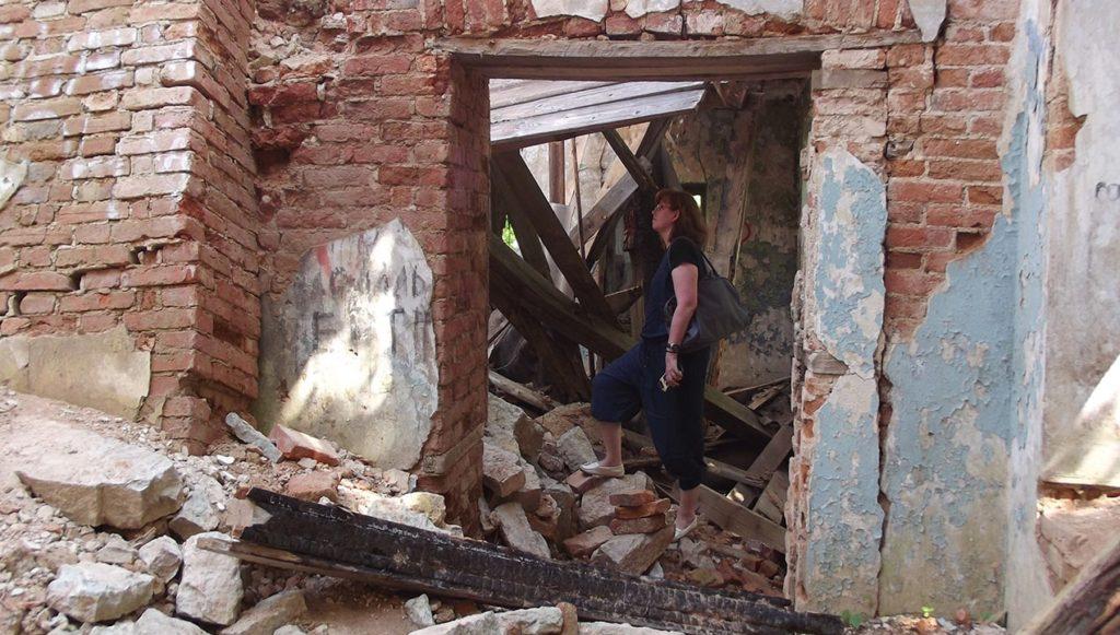развалины усадьбы лопухинка ленинградская область