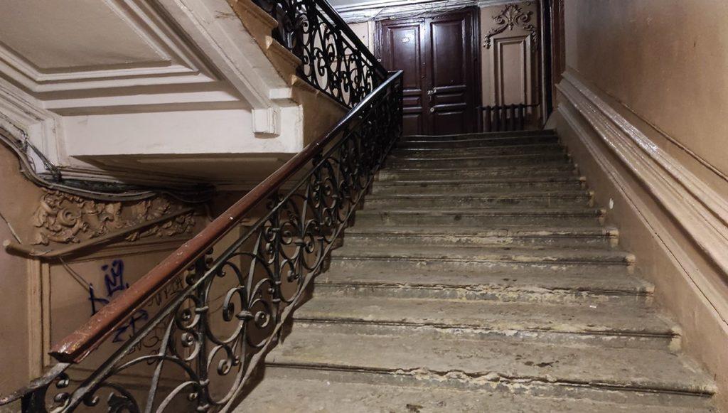 Парадная доходного дома В.П.Брискона.Санкт Петербург.