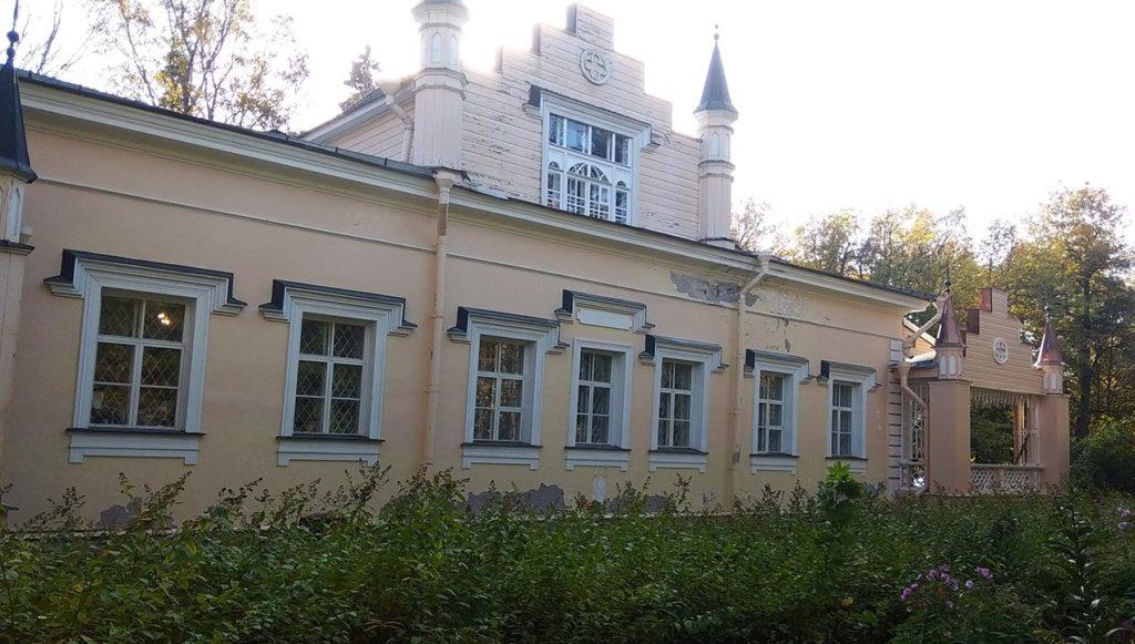 Усадьба Рериха в Изваре.Ленинградская область.